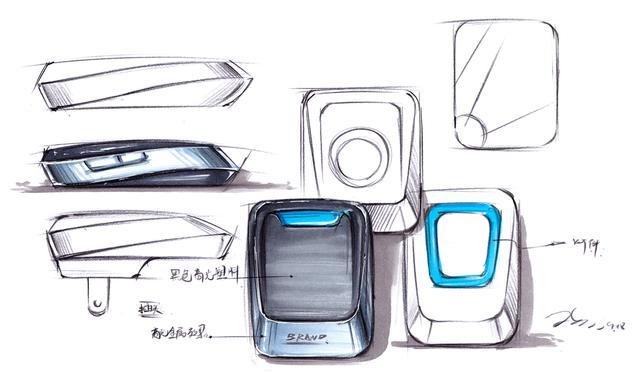 「手绘」设计师详解工业设计手绘草图 - 工业产品设计